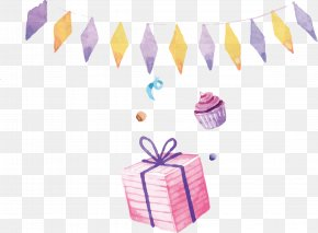Birthday Decoration - Birthday Gift Party PNG