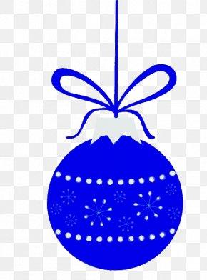 Ornament Cobalt Blue - Blue Holiday Ornament Cobalt Blue Ornament PNG
