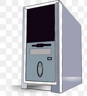 Computer Desktop Pc - Computer Cases & Housings Desktop Computers Clip Art PNG