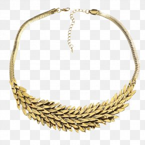 Fashion Antique Gold Wings Clavicle Chain - Necklace Gold Icon PNG