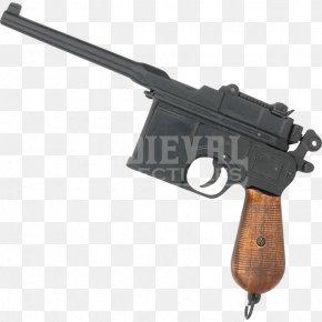 World War Two - Trigger Firearm Mauser C96 Handgun PNG