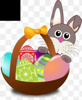 Easter Egg Hunt Clipart - Easter Bunny Easter Parade Egg Hunt Easter Basket PNG
