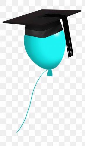 Graduation Cap - Graduation Ceremony Square Academic Cap Teal Clip Art PNG