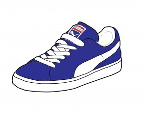 Running Shoes - Puma Shoe Sneakers Adidas Vans PNG