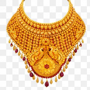 Jewellery - Jewellery Necklace Gold Choker Jewelry Design PNG