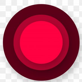 Red Gradient Circle Creative - Red Download PNG