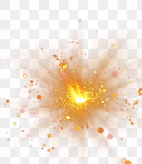 Spot Light Effect - Explosion PNG