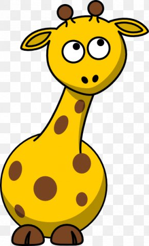 Cute Cartoon Giraffe Pictures - Giraffe Cartoon Clip Art PNG