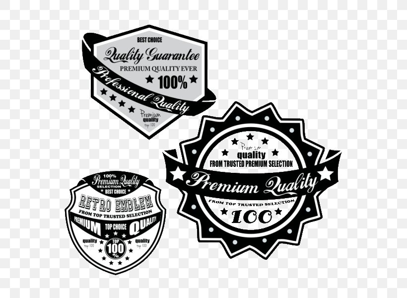 Black And White Clip Art, PNG, 600x600px, Black And White, Badge, Brand, Emblem, Icon Design Download Free