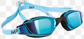 Michael Phelps - Goggles Swimming Mirror Titanium Sport PNG