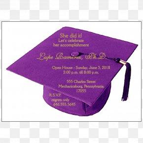 Party - Wedding Invitation Graduation Ceremony Square Academic Cap Party Graduate University PNG