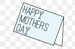 Mother's Day Card - Mother's Day Logo Brand Product PNG