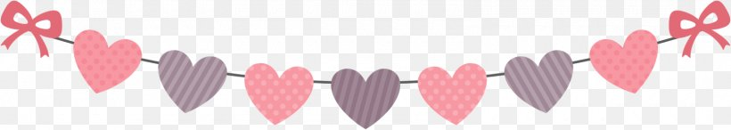 Valentine's Day Gift Heart Clip Art, PNG, 1600x286px, Watercolor, Cartoon, Flower, Frame, Heart Download Free