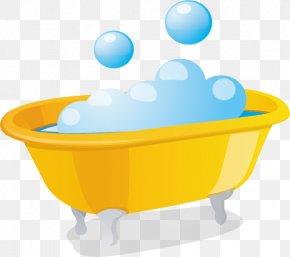 Bubble Bath - Bathtub Bathing Euclidean Vector PNG