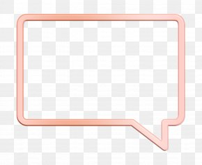 Rectangle Web Page Icon - Chat Icon Online Icon Social Market Icon PNG
