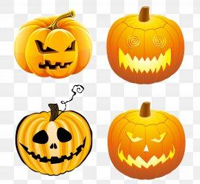 Halloween Pumpkin - Halloween Pumpkin Jack-o'-lantern Calabaza Clip Art PNG