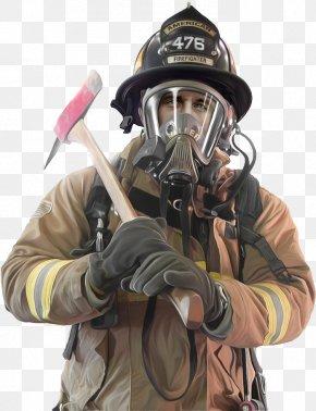 Firefighter - Firefighter Mask Fire Department PNG