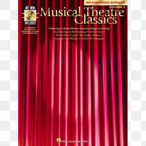 Musical Theatre - Theater Drapes And Stage Curtains Musical Theatre Graphic Design Soprano PNG