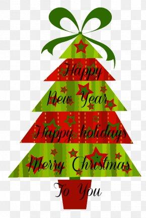Christmas Tree - Clip Art Christmas Christmas Tree Christmas Day Openclipart PNG