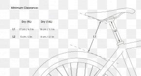 Bicycle Saddles - /m/02csf Line Art Drawing PNG