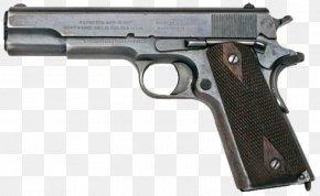 Colt 45 - M1911 Pistol Colt's Manufacturing Company Blowback .45 ACP PNG