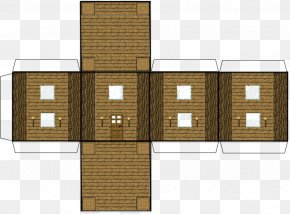 Paper Craft - Minecraft: Pocket Edition Paper Model House PNG