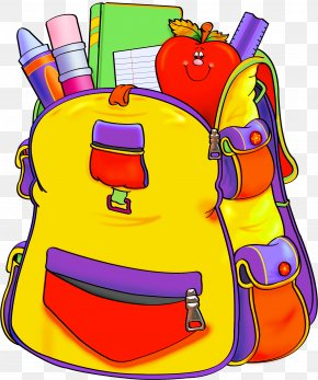 Backpack - Education School Supplies Clip Art PNG