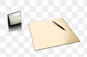 Free Calendar Pen Paper Clip To Pull - Paper Brand Box PNG