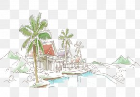 Seaside Vacation - Vacation PNG
