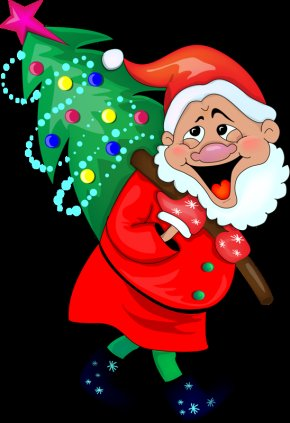 Santa Claus - Santa Claus Christmas Ornament Christmas Tree Clip Art PNG
