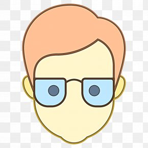 Glasses Yellow - Glasses PNG