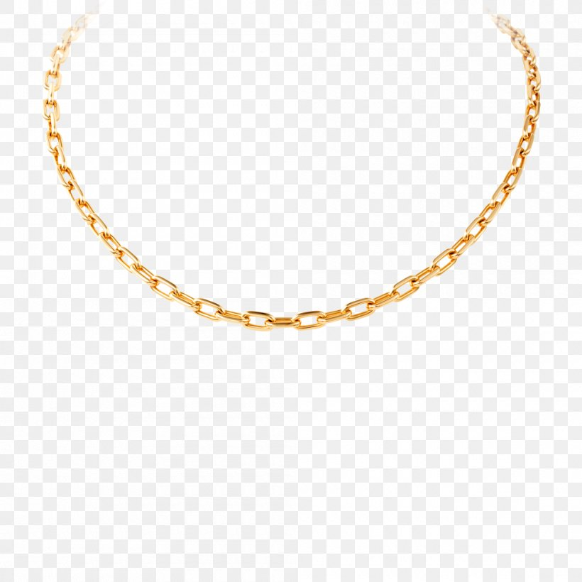 Necklace Chain Jewellery Gold, PNG, 1000x1000px, Chain, Body Jewelry, Charms Pendants, Choker, Gold Download Free