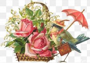 Vintage Floral - Flower Vintage Clothing Floral Design Clip Art PNG