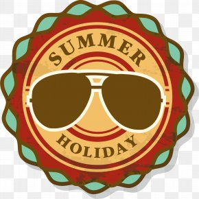 Summer Vacation Vacation Retro Label - Stock Photography Rubber Stamp Shutterstock PNG