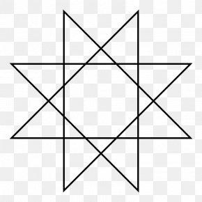 8 Point Star - Rub El Hizb Star Polygon Octagram Symbol Les Véritables Clavicules De Salomon PNG