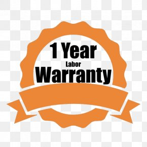 1 Year Warranty - Graphic Design Logo PNG