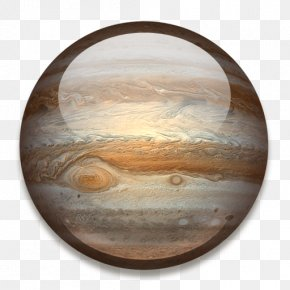 Planet - Jupiter ICO Solar System Planet Icon PNG