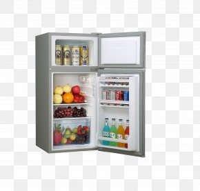Refrigerator - Refrigerator Home Appliance Washing Machine Refrigeration Air Cooling PNG