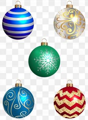 Christmas Balls Set Transparent Image - Christmas Ornament Christmas Decoration PNG