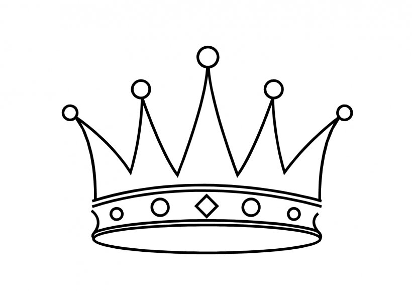 Crown Drawing King Clip Art, PNG, 1754x1240px, Crown, Area, Black And White, Clip Art, Coloring Book Download Free