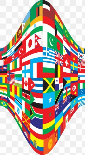 Flags - Flags Of The World Perspective Clip Art PNG