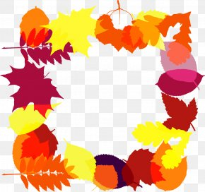 Red Maple Leaf Garland - Red Maple Maple Leaf Clip Art PNG