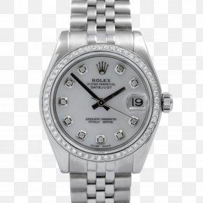 Rolex - Rolex Datejust Watch Diamond Luneta PNG