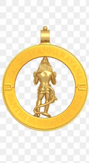 Hanuman - Charms & Pendants Gold Jewellery Locket Necklace PNG