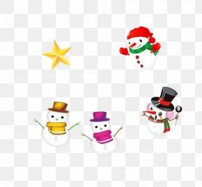 Cute Christmas Snowman - Snowman Christmas Clip Art PNG