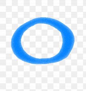 Blue Letter O - Blue Letter PNG
