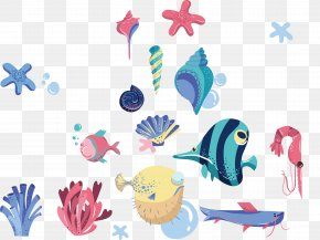 Vector Tropical Fish - Drawing Clip Art PNG