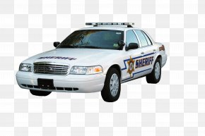 Police Vehicle - Ford Crown Victoria Police Interceptor Police Car Vehicle PNG