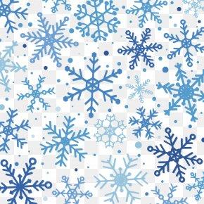 Snowflake Vector Material - Snowflake Winter Pattern PNG
