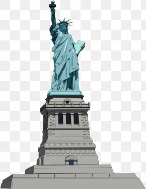 Statue Of Liberty Transparent Image - Statue Of Liberty National Monument Clip Art PNG